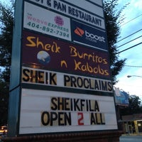 Photo taken at Sheik Burritos and Kabobs by Joe S. on 8/5/2012