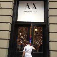 Photo taken at Armani Exchange by Demetries G. on 8/18/2012