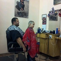 Photo taken at Jayuya Barbershop by Alyssa N. on 3/7/2012