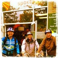 Photo taken at Spokes Bike Rentals by Dean N. on 6/13/2012