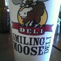 Photo taken at Smiling Moose Deli by Dani on 3/6/2012