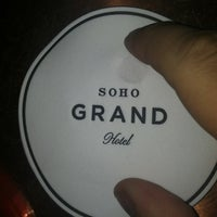 Photo taken at SoHo Grand Hotel by Gregory L. on 2/16/2012