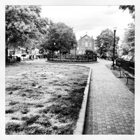 Photo taken at O'Donnell Square Park by Elliott P. on 5/9/2013