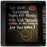 Photo taken at Starbucks by Elliott P. on 10/28/2012