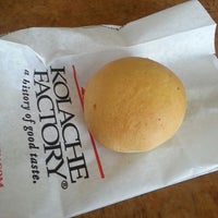 Photo taken at Kolache Factory by Henry T. on 4/28/2013