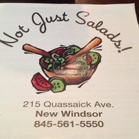Photo taken at Not Just Salads by Amy S. on 5/11/2013