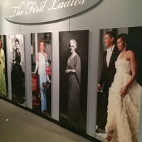 Photo taken at The First Ladies Exhibition by Elicia L. on 5/2/2014