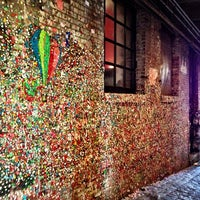 Photo taken at Gum Wall by gina 🌸 千. on 7/14/2013