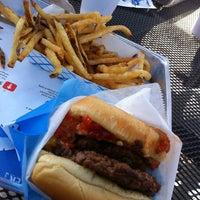 Photo taken at Elevation Burger by James V. on 4/7/2013