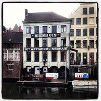 Photo taken at Het Waterhuis aan de Bierkant by Randy C. on 2/3/2013