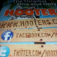 Photo taken at Hooters by Richard O. on 2/2/2013