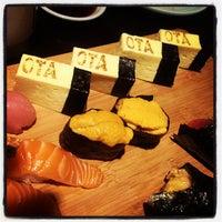 Photo taken at Sushi Ota by Urban S. on 7/22/2013