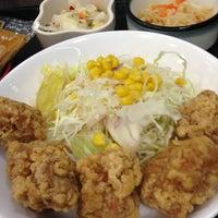 Photo taken at なか卯 池袋サンシャイン前店 by K357 on 8/4/2013