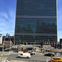 Photo taken at United States Mission to the United Nations by Nadira B. on 3/20/2015