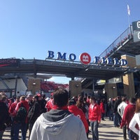 Photo taken at BMO Field by Cre L. on 5/9/2013