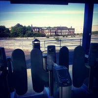 Photo taken at Luton Airport Parkway Railway Station (LTN) by Thomas P. on 5/27/2013