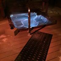 Photo taken at Oasis Hot Tub Garden by Jordan☀Ashley on 1/2/2015