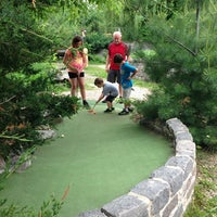 Photo taken at Big Stone Mini Golf & Sculpture Garden by Dawn N. on 6/15/2013