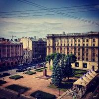 Photo taken at Памятник Добролюбову by Dmitriy🌁 on 8/9/2013
