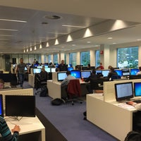 Photo taken at Tilburg University Library by Emre Hasan A. on 9/24/2015