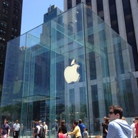 Photo taken at Apple Store, Fifth Avenue by Carl F. on 5/27/2013