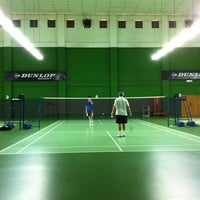 Photo taken at BJGCR Badminton Court by Kim Seng C. on 12/11/2012