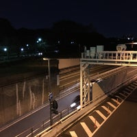 Photo taken at 首都高 北の丸トンネル by Hamashon on 1/27/2016