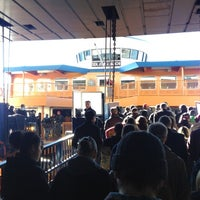 Photo taken at Staten Island Ferry Boat - Guy V. Molinari by Niamh H. on 11/4/2012