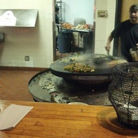 Photo taken at Khan's Mongolian Barbeque by Mike Z. on 11/25/2012
