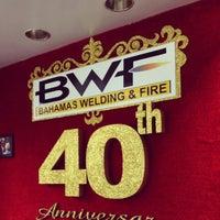 Photo taken at Bahamas Welding & Fire by Rhandi E. on 6/10/2013