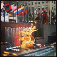 Photo taken at Rockefeller Center by Mary Z. on 5/6/2013