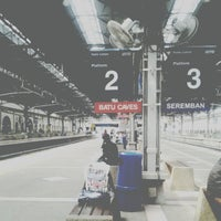 Photo taken at Stesen Sentral Kuala Lumpur by Aizat_J on 4/8/2013