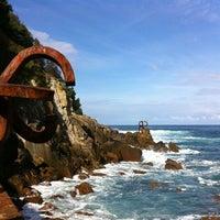 Photo taken at Peine del Viento by Mark W. on 10/13/2012