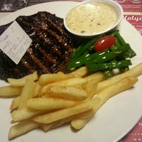 Photo taken at SteakHotel by Holycow! by Chandra M. on 9/1/2015