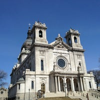 Photo taken at Basilica of Saint Mary by Maryann E. on 4/4/2013