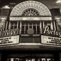 Photo taken at Portage Theater by Chicagoist on 8/1/2014