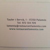 Photo taken at La Menta by Albert S. on 9/23/2013