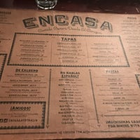 Photo taken at Encasa Restaurant by Fiona D. on 10/26/2016