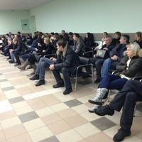 Photo taken at МРЭО ГИБДД ГУ МВД by Perestrelka on 1/20/2013