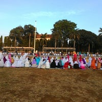 Photo taken at Alun - Alun Jepara by Dhery D. on 10/3/2014