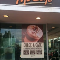 Photo taken at McCafé by Alejandro Q. on 10/26/2012