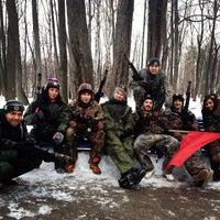 Photo taken at Турбаза Березка by Damir S. on 2/24/2013