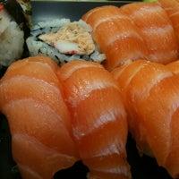 Photo taken at Kantô Sushi Express by Diego P. on 6/10/2013