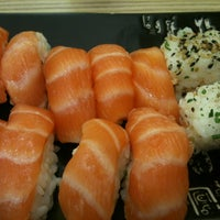 Photo taken at Kantô Sushi Express by Diego P. on 5/15/2013