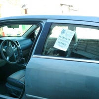 Photo taken at Marshall Impound Facility by Elicia B. on 10/11/2012