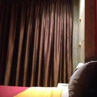 Photo taken at Pak Ping Ing Tang Boutique Hotel by Nun T. on 5/4/2012