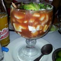 Photo taken at El Encanto Jarocho by Abner T. on 5/24/2012