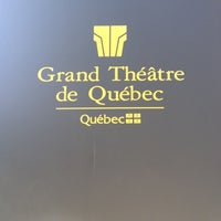 Photo taken at Grand Théâtre de Québec by Yumi A. on 6/18/2012