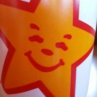 Photo taken at Carl's Jr. / Green Burrito by Kristen M. on 11/11/2012