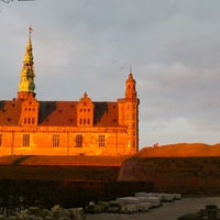Photo taken at Kronborg Castle by Trine Louise A. on 1/13/2013